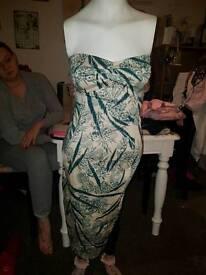 Coast dress and matching bag