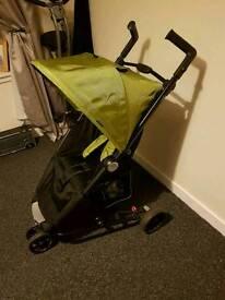 3 wheeler kiddiecare care pram