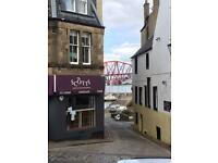 Large 1 bed F/F flat in heart of Sth Queensferry with views of bridges
