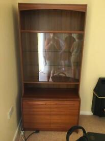 Display cabinet for lounge