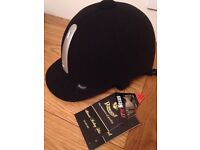 For sale - Rhinegold hat size 7.5 never worn, tags still attached, comes with hat bag.