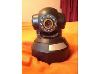 Spares/Repair B1 Series IP Network/Wireless/Infrared Security Camera with Power Supply