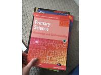 Teacher training books - Primary English, Science & New First Aid in English