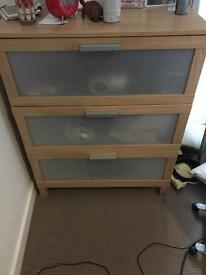 Ikea chest of draws x2