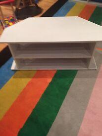 White Tv cabinet £10