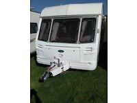 coachman genius 520/4 four berth caravan with remote caravan motor mover