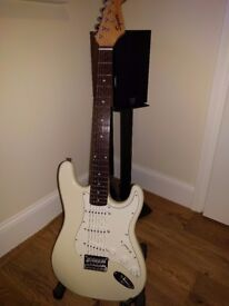 Squier by Fender, Stratocaster Electric Guitar - Great Condition (HD3)