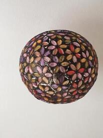 "X 2 Tiffany style light shades 13.5"" diameter"