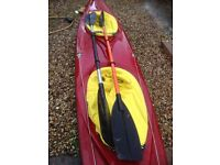double lake canal sea touring kayak