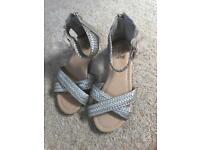 Brand new girls sandals size 1
