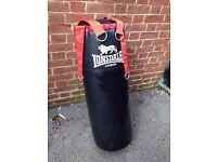 Lonsdale Punch Bag and Folding Bag Bracket