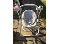 Graco swing used sparingly