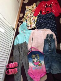 Girls clothes bundle 7&8 years