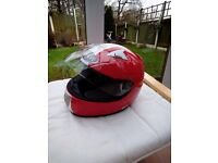 Motorcycle helmet , viper , full face , mint small