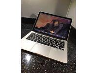 "MacBook Pro 13"" retina display 8GB Ram 256GB. Early 2015"