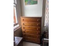 Ducal tallboy / chest of drawers