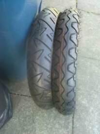 Motorbike tyres brand new