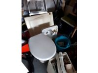 Free toilet and sink