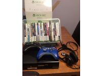 X box 360 extra controller and games for sale
