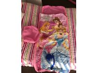 Child's Disney princess blow up/ inflatable bed