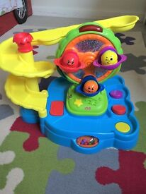 Toy Bundle - Mickey Clubhouse/Dinosaur Land/Fisher Price Carousel toy