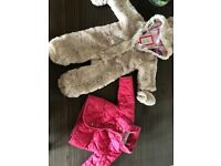 Joules Coat and Ted Baker Snowsuit - 0-3 months