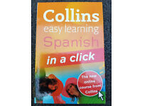 Collins Easy Learning Spanish in a Click by Ronan Fitzsimons