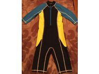 SWIMSUIT-ALL IN ONE- JOHN LEWIS AGE 7