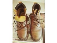 Original VINTAGE DR Martens - Leather + AIR CUSHION SOLES (Women s. 5.5)