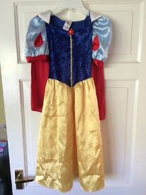 Girls age 7-8yrs Disney Snow White dress up