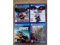 PS4 4 Games