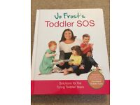 Jo Frost's Toddler SOS book!