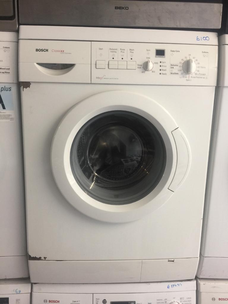 8.bosch washing machine