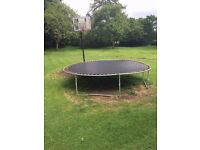 Large Trampoline Free to good home (garden)