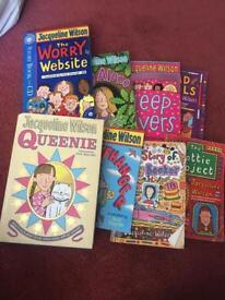 8 Jacqueline Wilson books