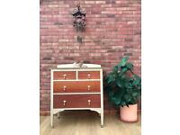 Vintage Chest Of Drawers / dressing table / chest / storage