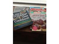 Gluten free recipe books£10