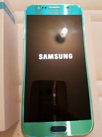 Samsung Galaxy S6 SM-G920F - 32GB - Blue Topaz Smartphone - unlocked