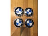 Set of 4 BMW centre caps brand new
