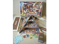 """Disney Mickey's Adventures """"THE CURSE OF THE PHAROAH"""" board game from 2008."""
