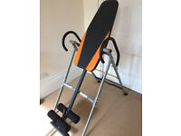 Inversion Table - perfect condition, almost brand new!