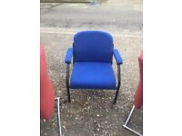 Office/ waiting room large blue chair