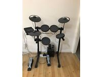 YAMAHA DTX 400K ELECTRONIC DRUM KIT + Creative A250 (2.1) Speaker System