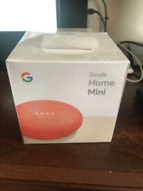 Google home mini boxed