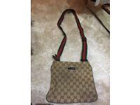Gucci messenger bag (used)