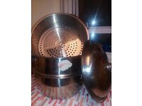 3 GiantTier stainless Food steamer,