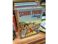 SCHOOL FRIEND ANNUAL 1960 VINTAGE RETRO 60s GIRLS BOOK RARE SDHC