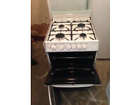 White CANNON 55cm wide Gas Cooker Fully Working with 4 Month Warranty