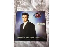 RICK ASTLEY - WHENEVER YOU NEED SOMEBODY -LP