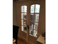French internal doors in white